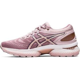 asics Gel-Nimbus 22 Shoes Women, watershed rose/rose gold